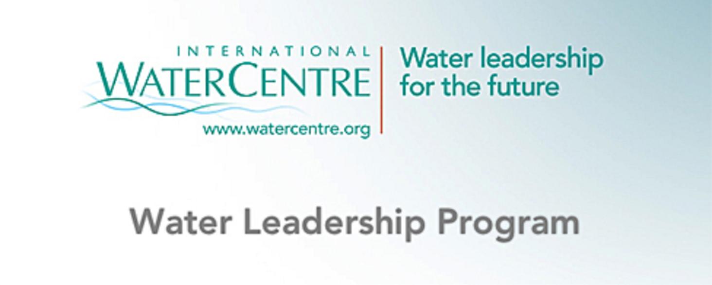 IWC Water Leadership Program Header