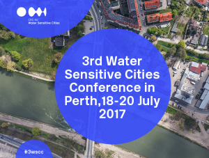 (EXTERNAL) CRCWSC 3rd Water Sensitive Cities Conference (Perth) @ Perth Convention & Exhibition Centre