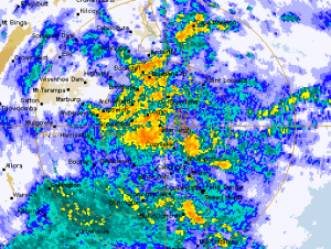 Flood Forecasting/Radar Rainfall Event @ Queensland | Australia